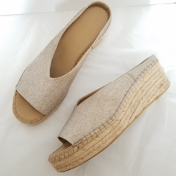Sparkly Glittery Espadrilles Wedges
